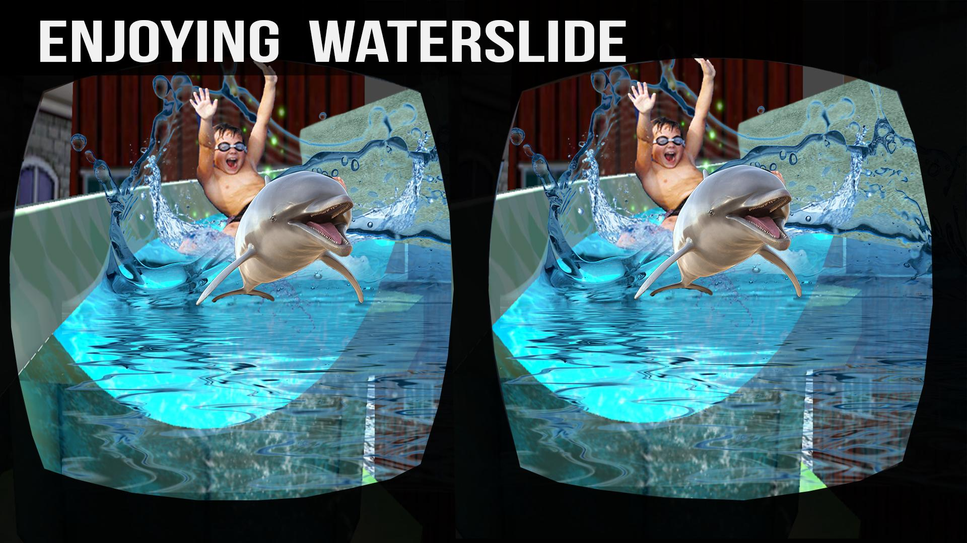 VR Water Slide Adventure-Dolphin Ride 3D for Android - APK