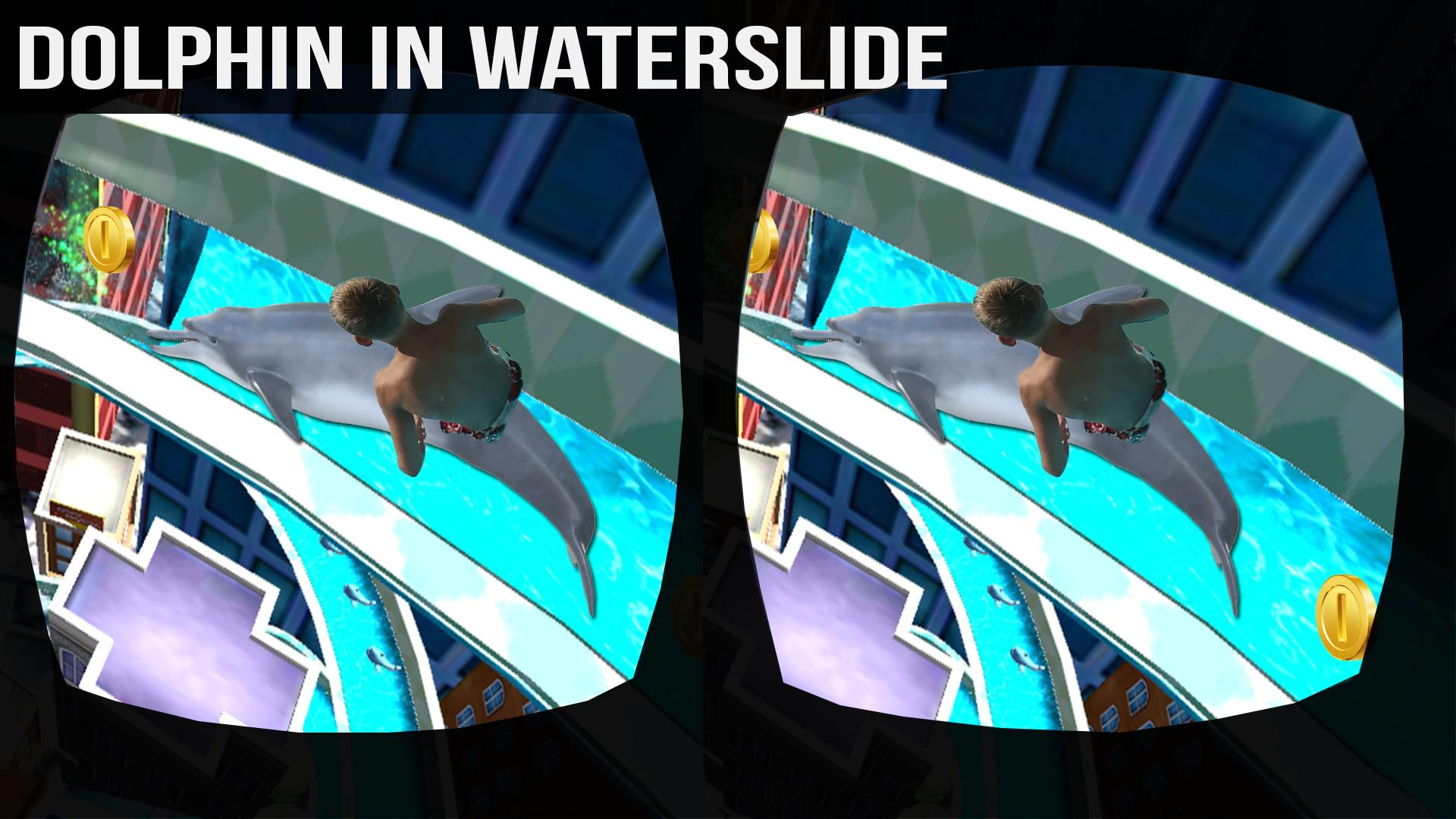 VR Water Slide Adventure-Dolphin Ride 3D for Android - APK Download