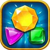 Jewels Quest-Match 3 Puzzle icon