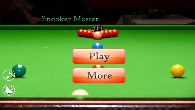 Snooker Master 3D poster