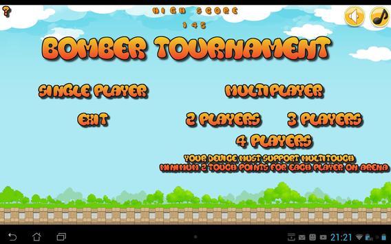 Bomber tournament screenshot 5