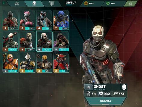 Modern Combat Versus: Juego de FPS (Inédito) apk captura de pantalla