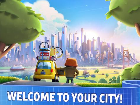City Mania: Town Building Game poster