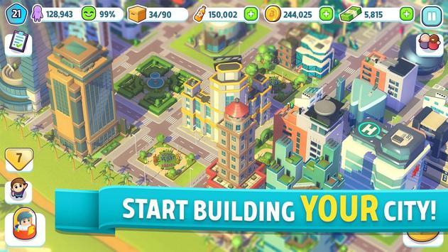 酷動城市:城市建造遊戲 海報