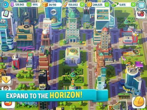 酷動城市:城市建造遊戲 apk 截圖