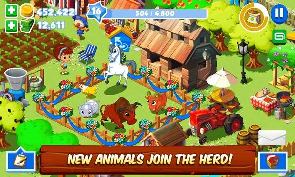 Green Farm 3 captura de pantalla de la apk