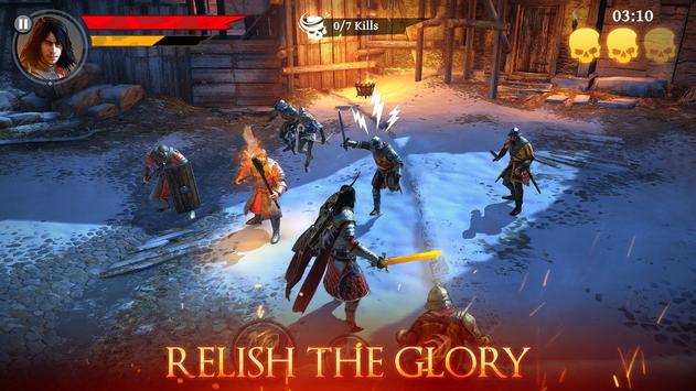 Iron Blade: Monster Hunter RPG apk screenshot