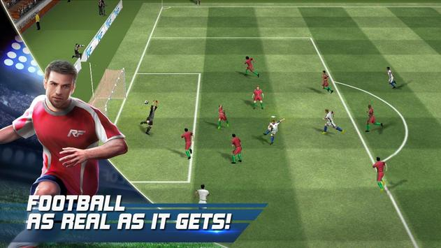 Schermata apk Real Football