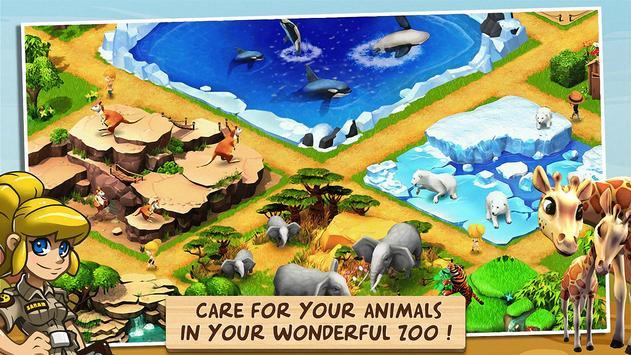 奇跡動物園:動物救兵! apk 截圖