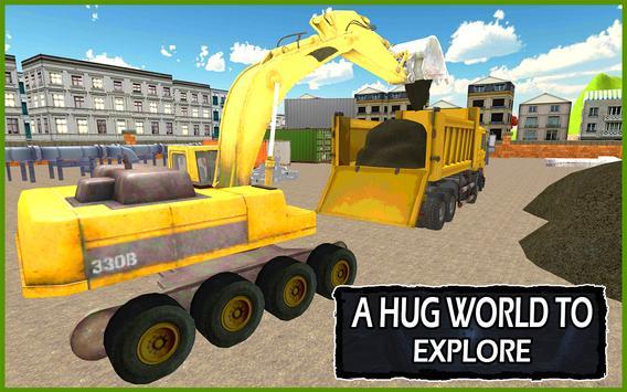 Construction Simulator 2016 apk screenshot
