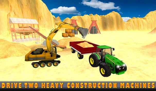 Sand Excavator Tractor  Simulator 2018 screenshot 10