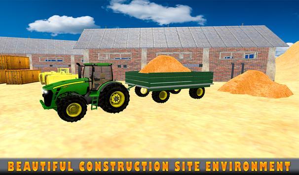 Sand Excavator Tractor  Simulator 2018 screenshot 12