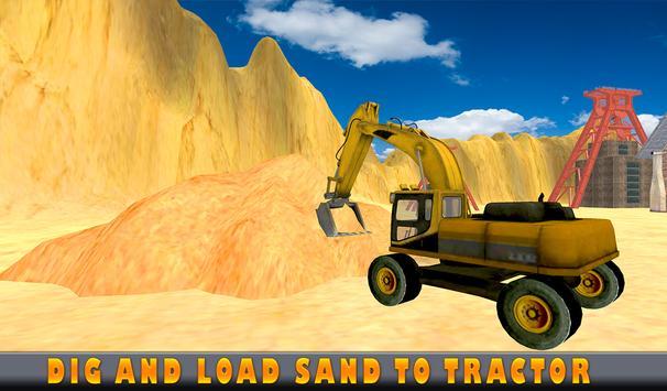 Sand Excavator Tractor  Simulator 2018 screenshot 13