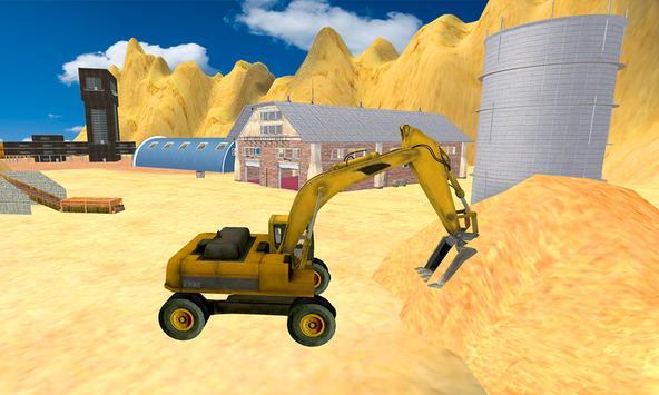 Sand Excavator Tractor  Simulator 2018 screenshot 4