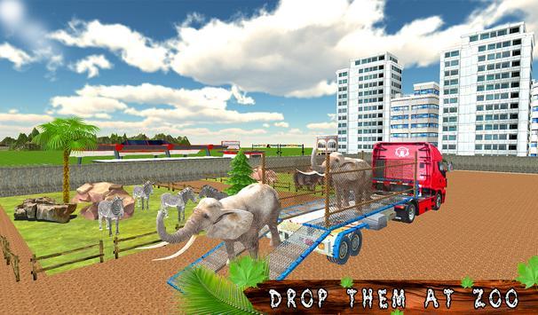 Transport Truck Zoo Animals screenshot 8