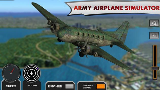 Army Jet Flight Airplane Rescue Simulator 2017 poster