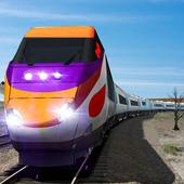 Real Speed Train Racing Drive Simulation Fun 2017 icon