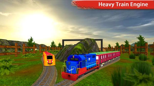 Real Speed Train Racing Drive Simulation Fun 2017 poster