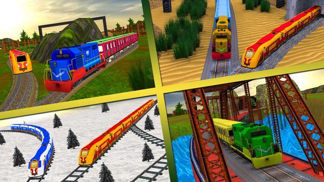 Real Speed Train Racing Drive Simulation Fun 2017 apk screenshot