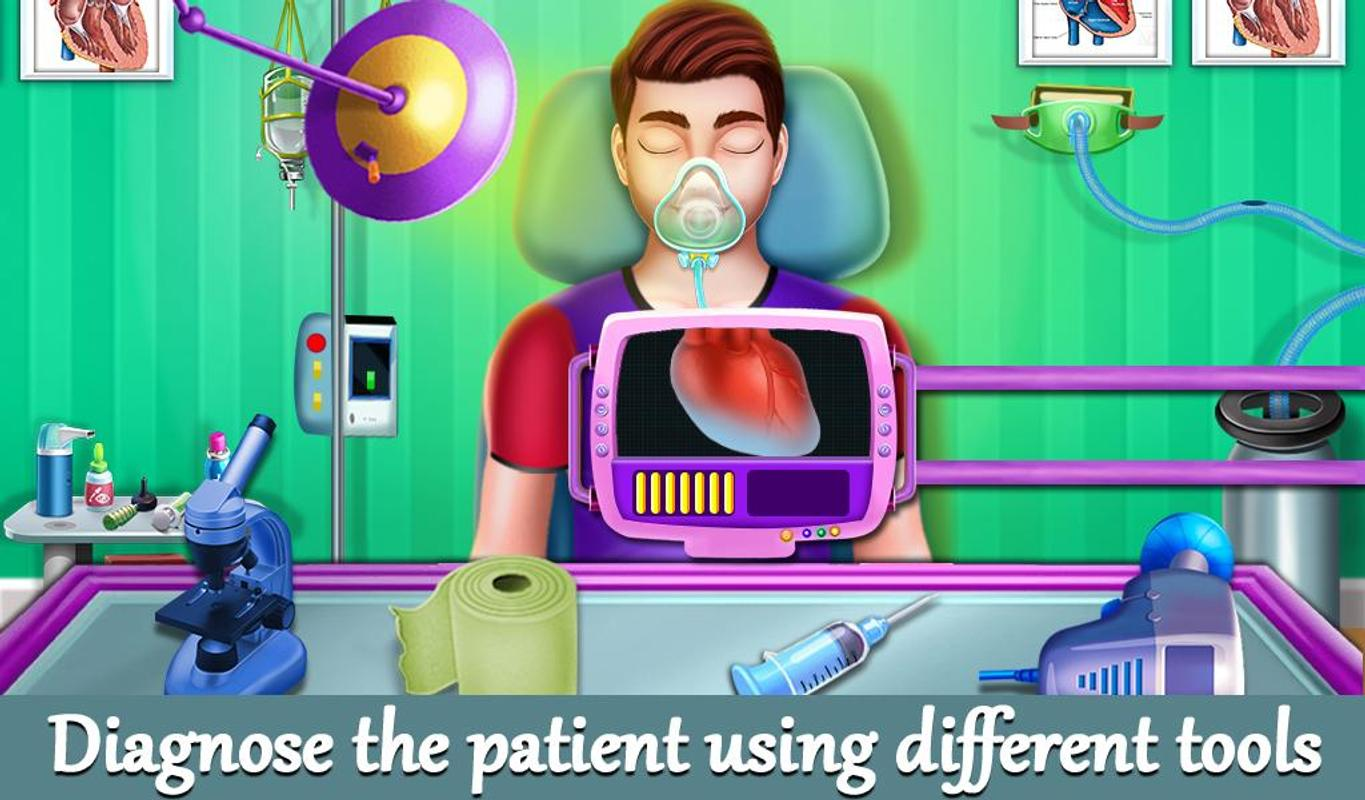 emergency heart transplant surgery simulator for android apk download