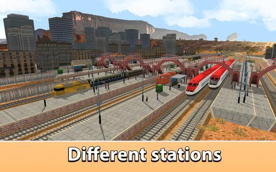 USA Railway Train Simulator 3D apk screenshot