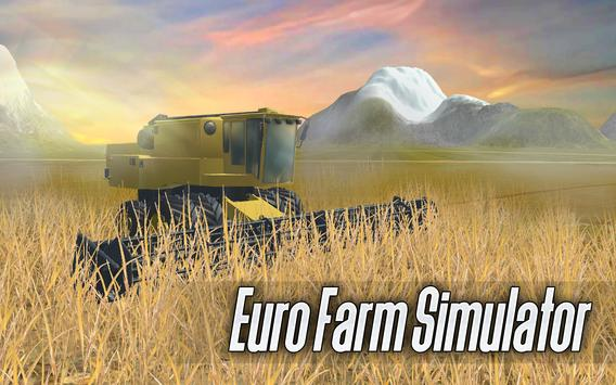 Euro Farm Simulator 3D Cartaz