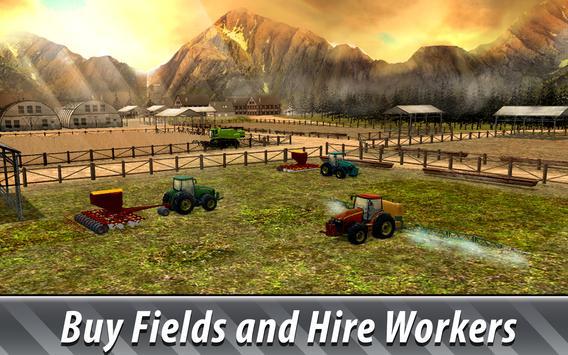 欧洲农场模拟器3D 截图 1