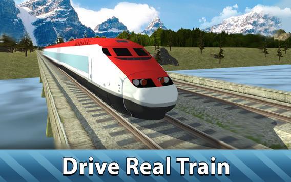 Europe Train Simulator 3D apk screenshot