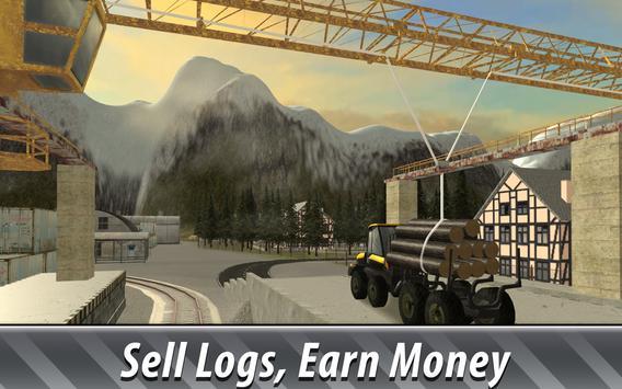 Euro Farm Simulator: Forestry apk screenshot