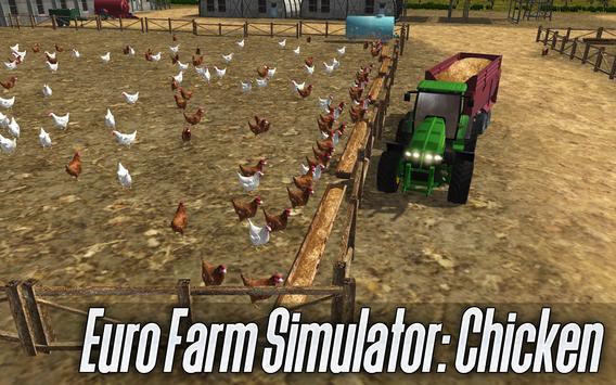 Euro Farm Simulator: Chicken poster
