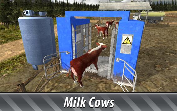 🚜 Euro Farm Simulator: 🐂 Cows screenshot 10