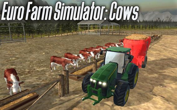 🚜 Euro Farm Simulator: 🐂 Cows screenshot 8