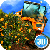 Euro Farm Simulator: Fruit icône