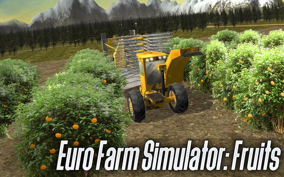 Euro Farm Simulator: Fruit poster
