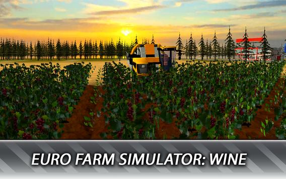 Euro Farm Simulator: Wine स्क्रीनशॉट 8