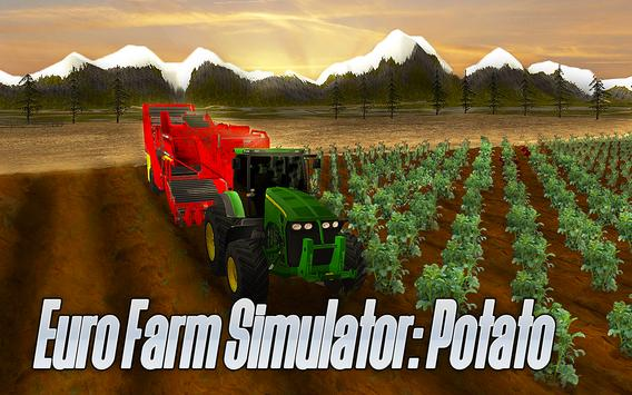 Euro Farm Simulator: Potato poster