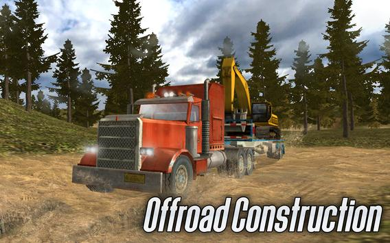 Offroad Construction Trucks poster