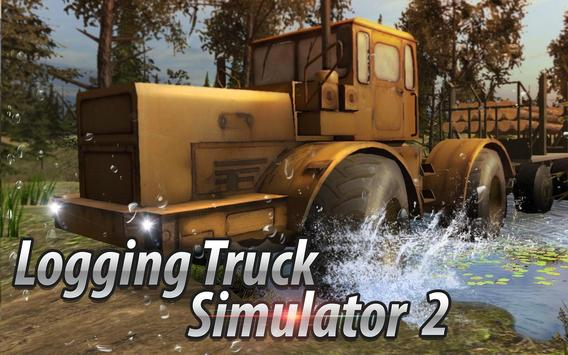 Logging Truck Simulator 2 poster