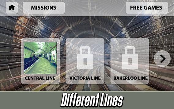 London Subway: Train Simulator apk screenshot