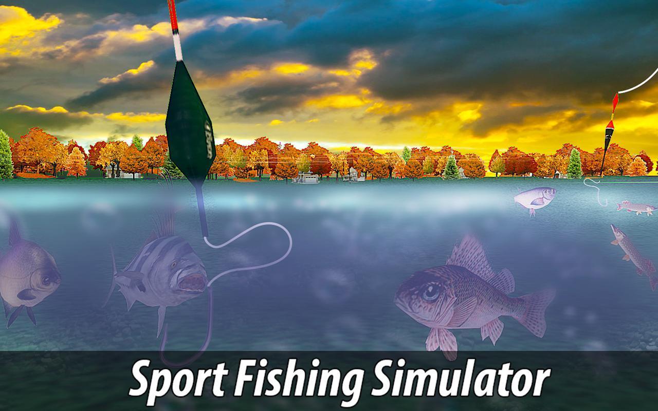 Fishing simulator catch wild apk download free sports for Fish s wild
