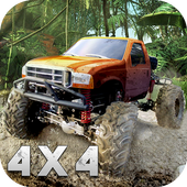Monster Truck Offroad Rally 3D icône