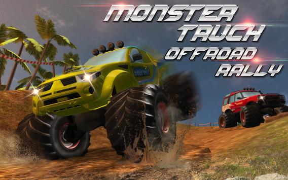 Monster Truck Offroad Rally 3D poster