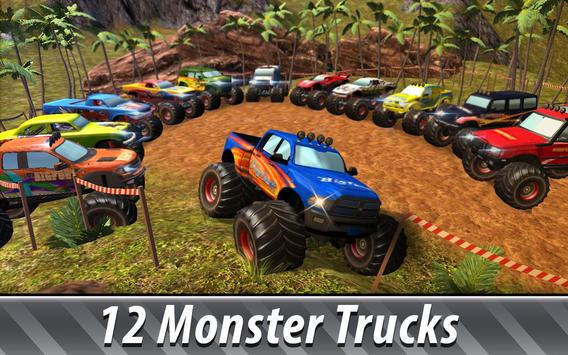 Monster Truck Offroad Rally 3D screenshot 1