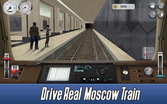 Moscow Subway Simulator 2017 apk screenshot