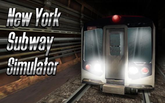 New York Subway Simulator 3D poster