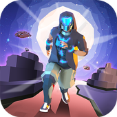 Space Parkour Runner icon