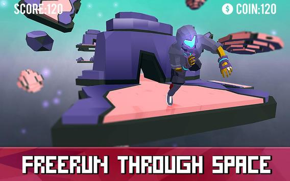 Space Parkour Runner poster
