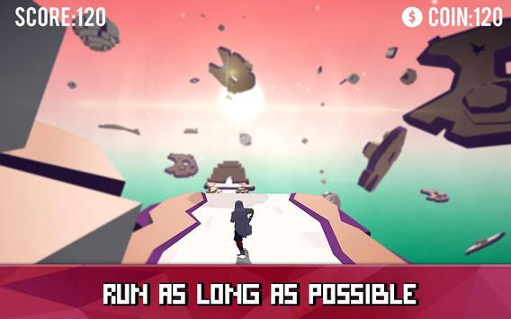 Space Parkour Runner screenshot 1