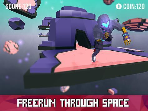 Space Parkour Runner screenshot 4