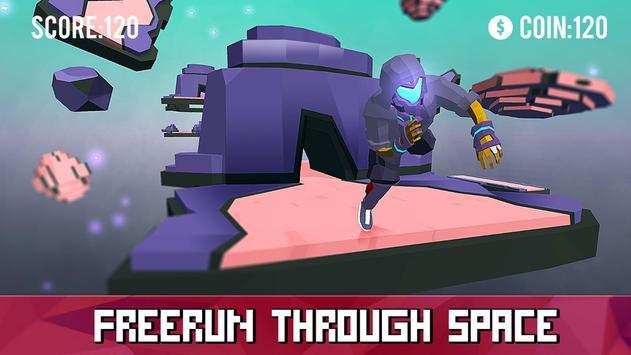 Space Parkour Runner screenshot 8